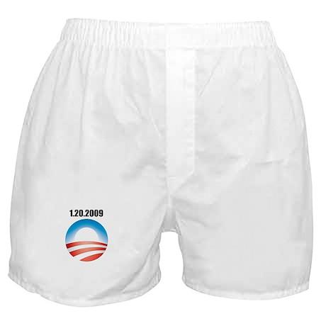 Barack Obama - 1.20.2009 Logo Boxer Shorts