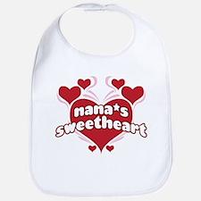 NANA'S SWEETHEART Bib