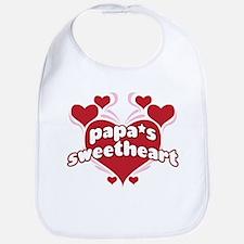 PAPA'S SWEETHEART Bib