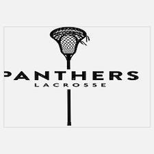 Unique High school lacrosse Wall Art