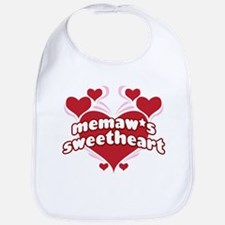 MEMAW'S SWEETHEART Bib