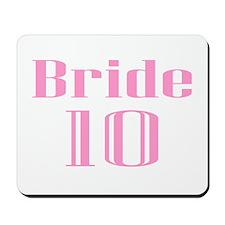 Bride 10 Mousepad
