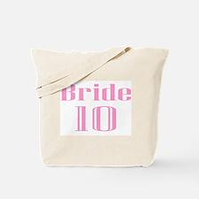 Bride 10 Tote Bag