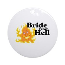 Bride From Hell Ornament (Round)