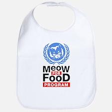 Meow For Food Program Bib