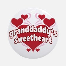 GRANDDADDY'S SWEETHEART Ornament (Round)