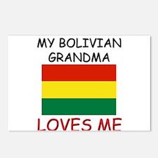 My Bolivian Grandma Loves Me Postcards (Package of