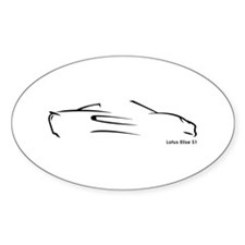 Lotus Elise S1 Oval Decal