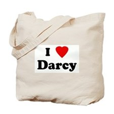 I Love Darcy Tote Bag