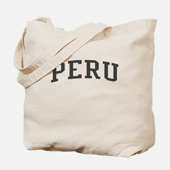 Peru Black Tote Bag