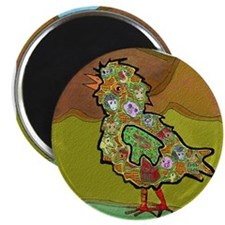 "Unique Cow comics 2.25"" Magnet (10 pack)"