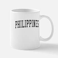 Philippines Black Mug