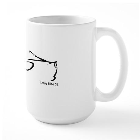 Lotus Elise S2 Large Mug