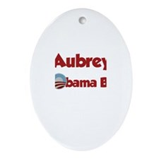 Aubrey - Obama Baby Oval Ornament