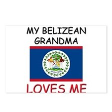 My Belizean Grandma Loves Me Postcards (Package of