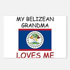 My Belizean Grandma Loves Me Postcards (Package of