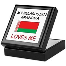 My Belarusian Grandma Loves Me Keepsake Box