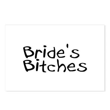 Bride's Bitches Postcards (Package of 8)