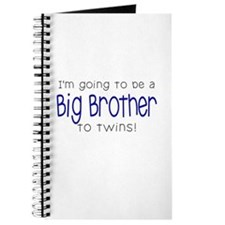 Big Brother to Twins Journal