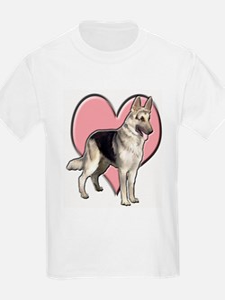 GSD heart T-Shirt