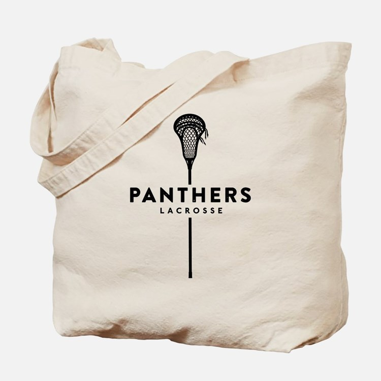 Panthers Lacrosse Tote Bag