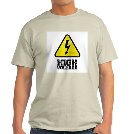 High voltage Ash Grey T-Shirt