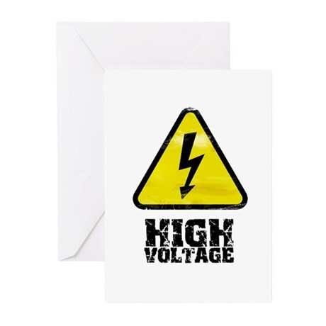High voltage Greeting Cards (Pk of 10)