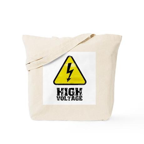 High voltage Tote Bag