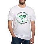 LiverCancerHOPE Fitted T-Shirt