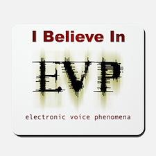 I Believe In EVP Mousepad