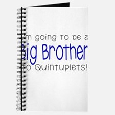 Big Brother to Quintuplets Journal