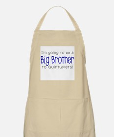 Big Brother to Quintuplets BBQ Apron