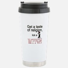 Lick A Witch Stainless Steel Travel Mug
