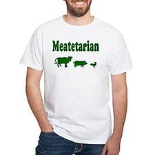 Meatetarian Green on Shirt
