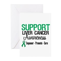 Support LiverCancerAwareness Greeting Cards (Pk of