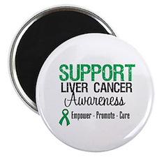 Support LiverCancerAwareness Magnet