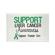 Support LiverCancerAwareness Rectangle Magnet