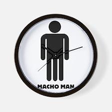 Machoman Wall Clock