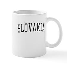 Slovakia Black Mug