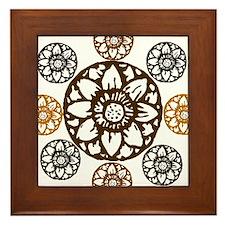 Lotus Bloom - Framed Tile