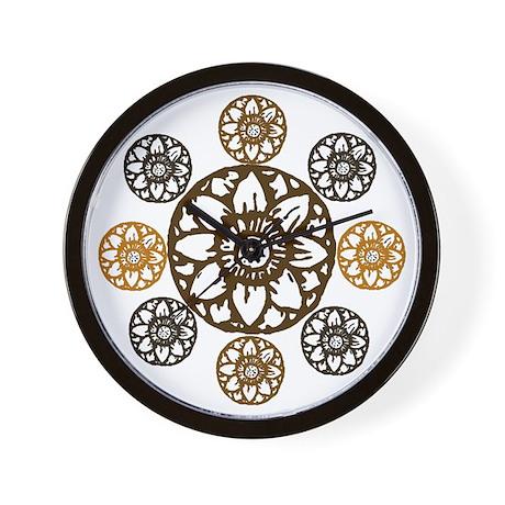 Lotus Bloom - Wall Clock