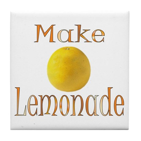 Lemonade Tile Coaster