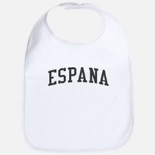 Spain Espana Black Bib