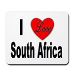 I Love South Africa Mousepad