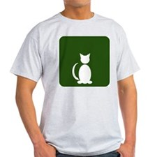 Cat Restroom: Cat Only T-Shirt