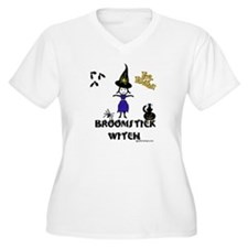 Broomstick Witch T-Shirt