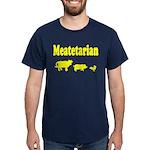 Meatetarian Gold/Navy T-Shirt