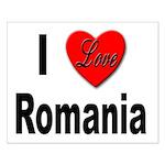 I Love Romania Small Poster