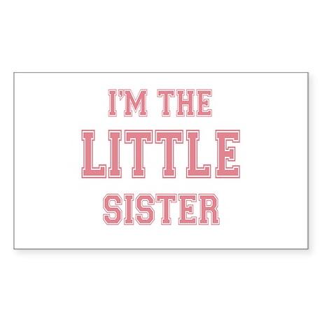 Little Sister Rectangle Sticker