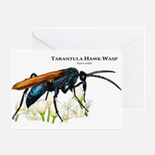 Tarantula Hawk Wasp Greeting Card